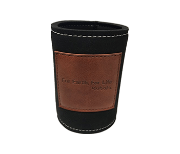 Leather Look Stubby Holder