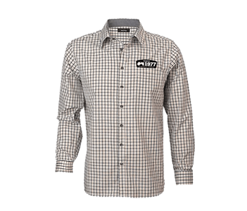 Mens 40 Year Check Shirt
