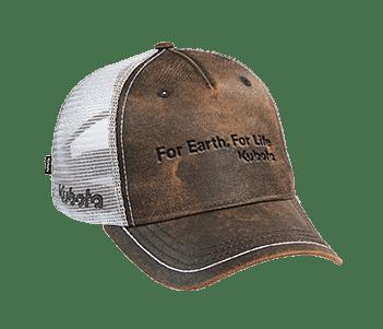 Oil Leather Look Cap