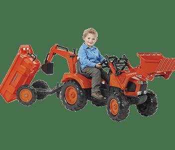 Pedal Tractor +t+l+b