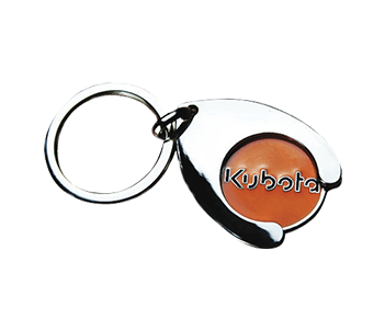 Shopping Trolley Keyring
