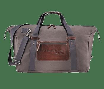 Vintage Canvas Duffle Bag